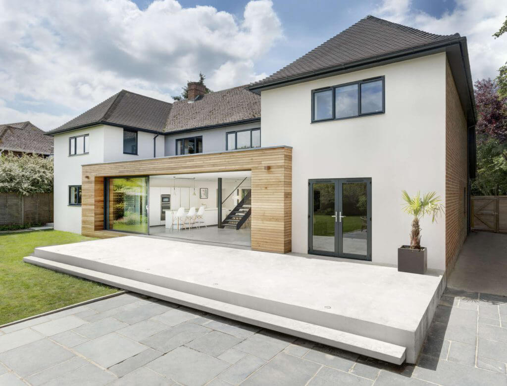 modern home extension