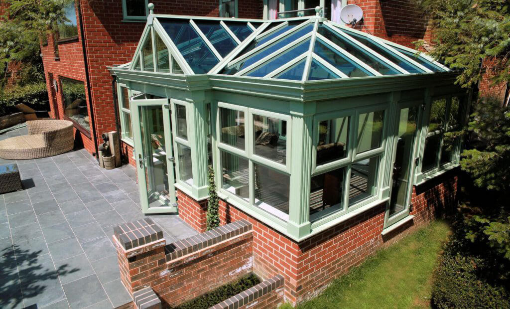 secure orangery installed by Emerald Home Improvements
