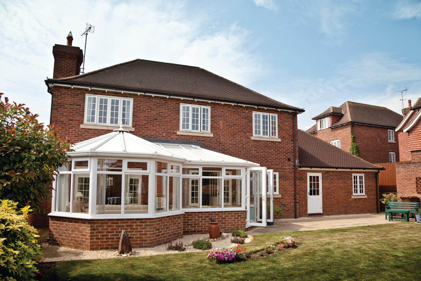 P Shaped Conservatories Expand Your Living Space With Emerald