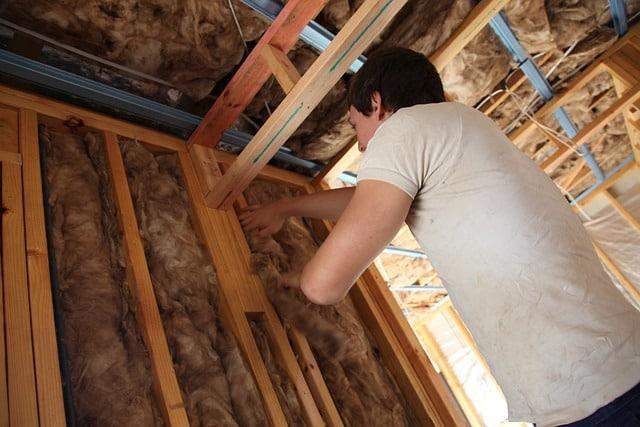 insulating garage